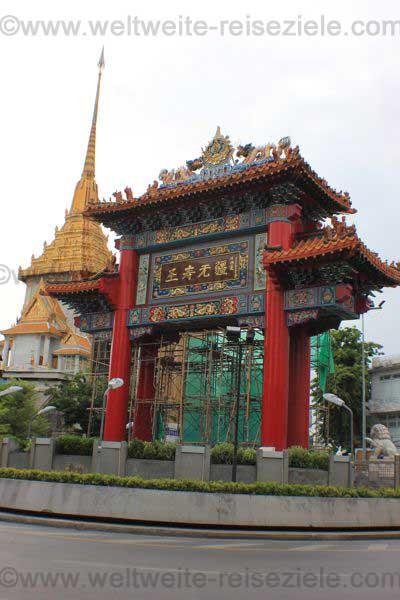 Reiseziel Asien, Chinesisches Tor