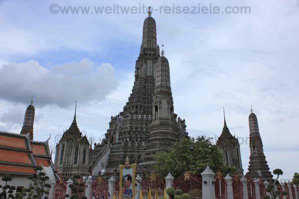 Tempel in Bangkok, Asien