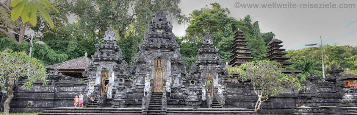 Fledermaustempel Pura Goa Lawah an der Ostküste von Bali