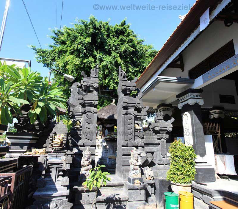 Heiligtum im Tempel Pura Belanjong in Sanur