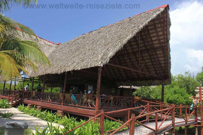 Restaurant von Cayo Jutias