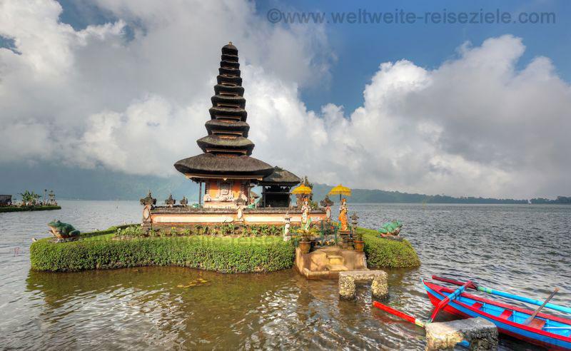 Wassertempel am Bratan See, Pura Ulun Danu Bratan