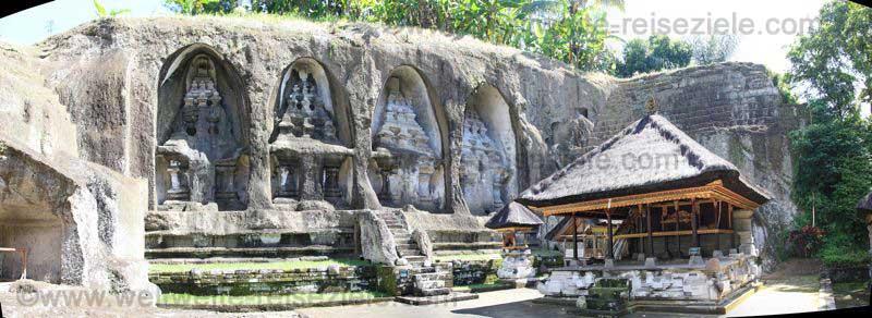 Königsgräber und Tempel von Gunung Kawi, Bali