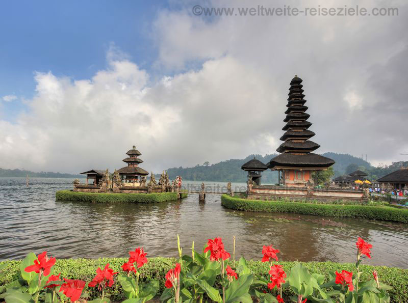 Wassertempel in Bali Pura Ulun Danu Bratan