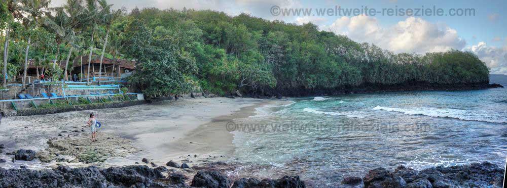 Blue Lagoon Beach, Strand bei Padang Bai