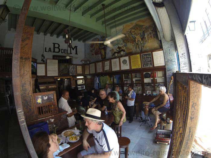 La Bodeguita del Medio, von innen, Havanna