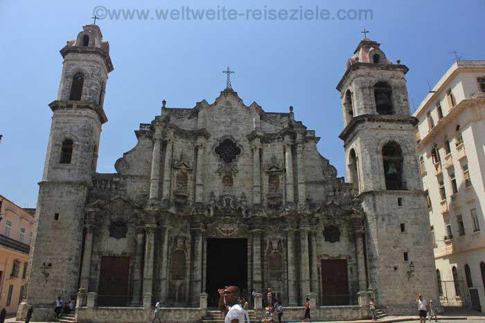 Kathedrale von Havanna von aussen