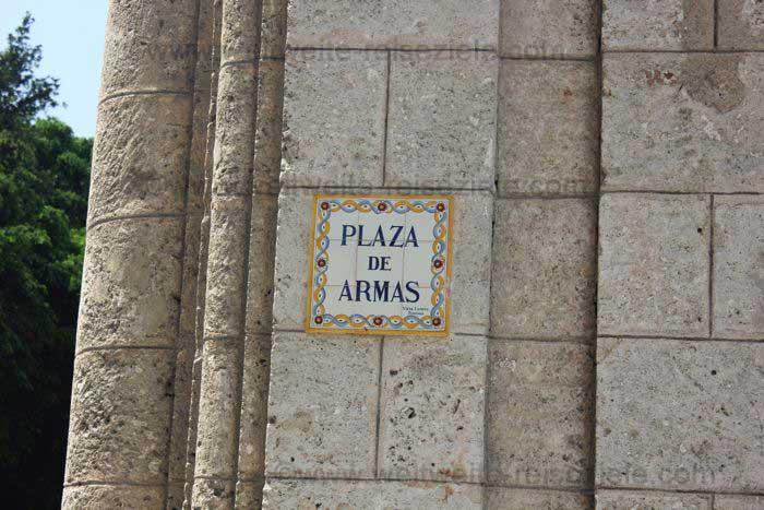 Havanna, Plaza de Armas