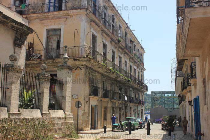 Altes Haus an der Plaza de Armas