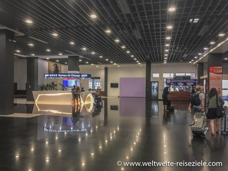 Flughafen von Siem Reap, Geldwechselschalter
