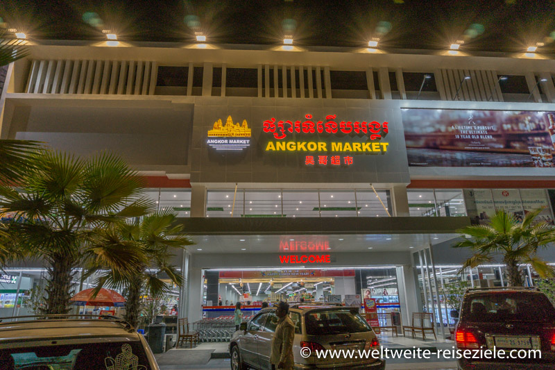 Supermarkt, Angkor Market in Siem Reap