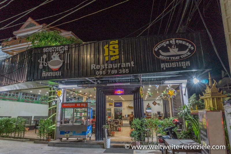 Restaurant in Siem Reap
