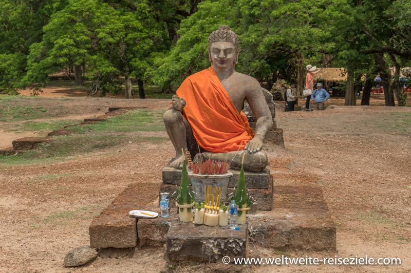Statue des Leprakranken Königs, Angkor, Vietnam