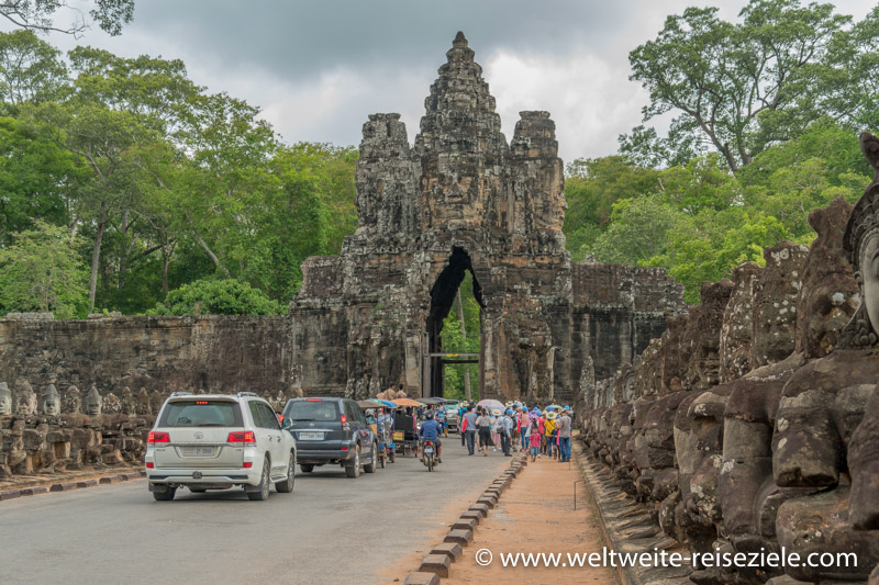Südtor Angkor Thom, Vietnam