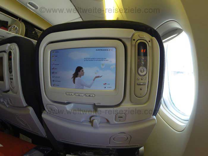 Boing 777 Airfrance Monitor