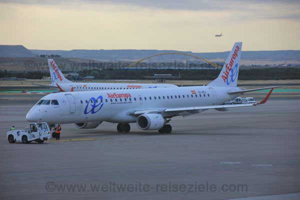 Air Europa fliegt von Madrid nach Kuba, Havanna