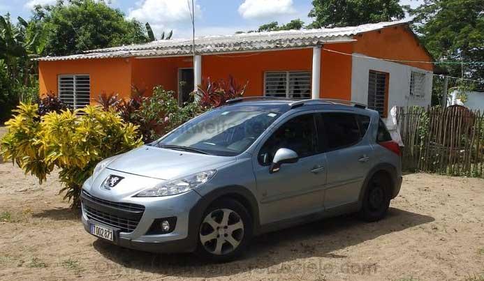 Peugeot 207 Leiwagen auf Kuba