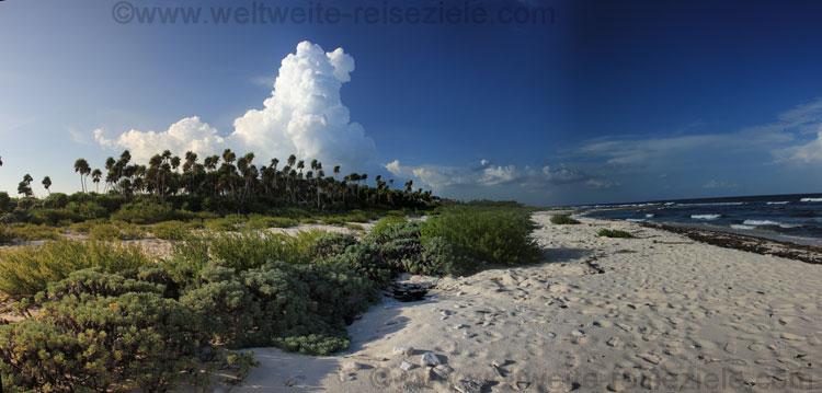 Strand im Süden der Halbinsel Guanahacabibes