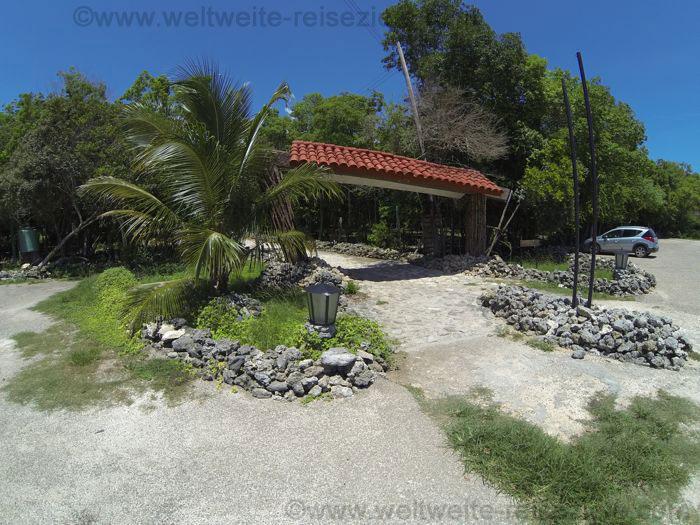 Eingang Cueva de los Peces, Bahia Cochinos, Schweinebucht