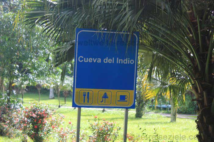 Schild, Cueva del Indio