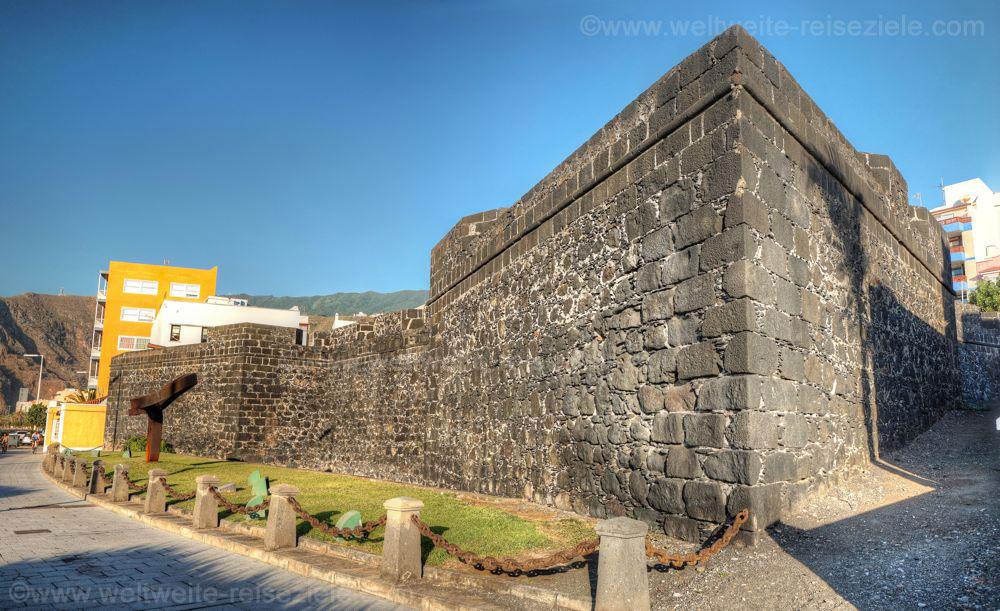 Burg Castillo de Santa Catalina, Sehenswürdigkeit in Santa Cruz de La Palma