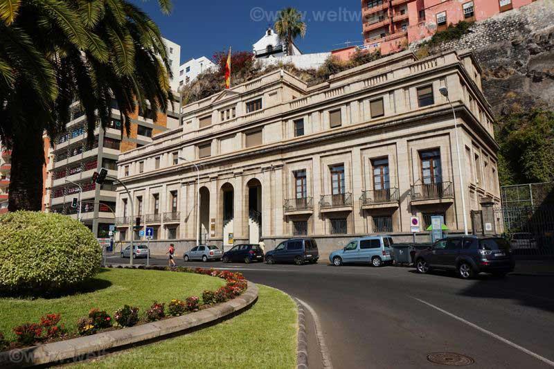 Edificio de Correos, Gebäude der Post Santa Cruz de La Palma