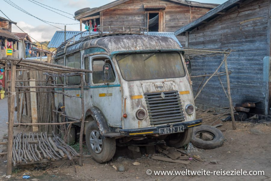 Alter Renault Bus, Madagaskar