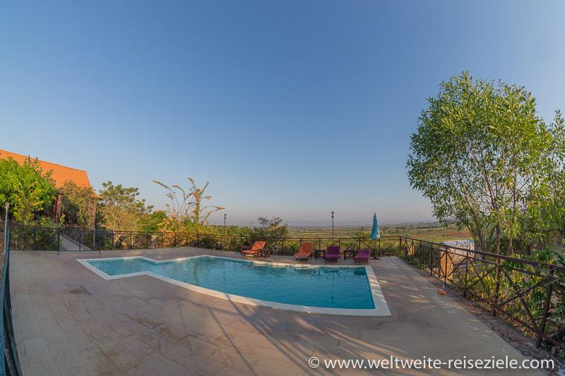 Pool vom Hotel Princesse Tsiribihina, Miandrivazo