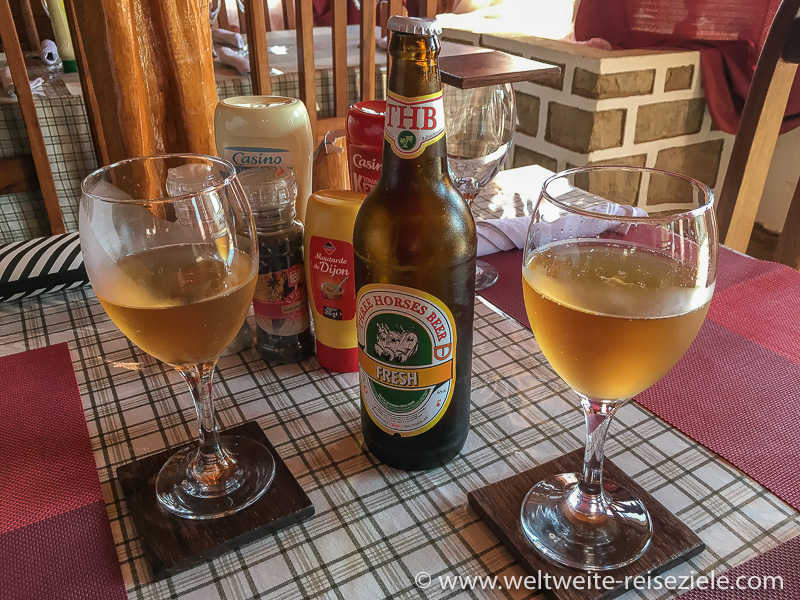 Radler, Fresh, vom Bierhersteller Tree Horses Beer, Madagaskar