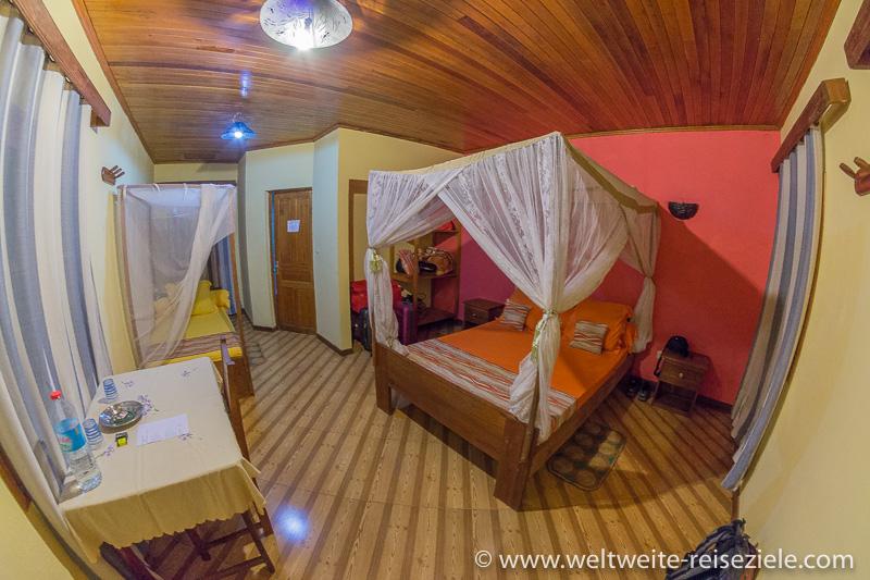 Zimmer im Hotel Orchidée du Bemaraha
