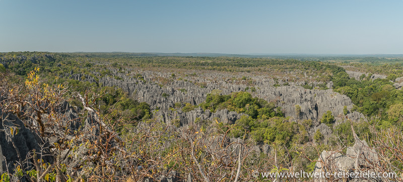 Kalksteinfelsen Nationalpark Tsingy de Bemaraha