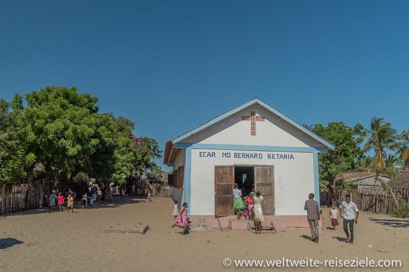 Kirche, Insel Betania, Morondava, Madagaskar