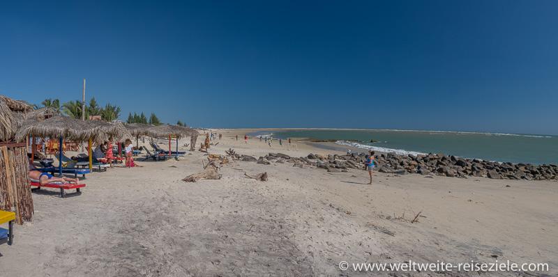 Strand von Morondava im nördlichen Bereich, Madagaskar