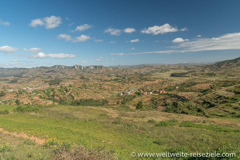 Aussichtspunkt, Landschaft Madagaskar Zentrum vor Ranomafana