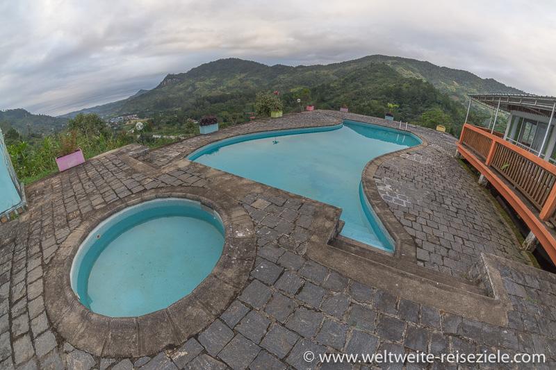 Pool, Hotel Karibotel, Ranomafana