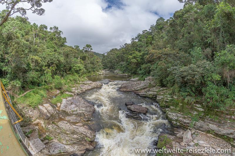 Fluss Ranomafana Madagaskar