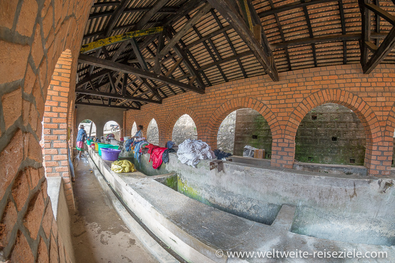 Wäschewaschplatz Altstadt Fianarantsoa