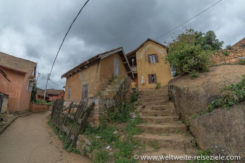 Alte Gebäude in der Oberstadt von Fianarantsoa