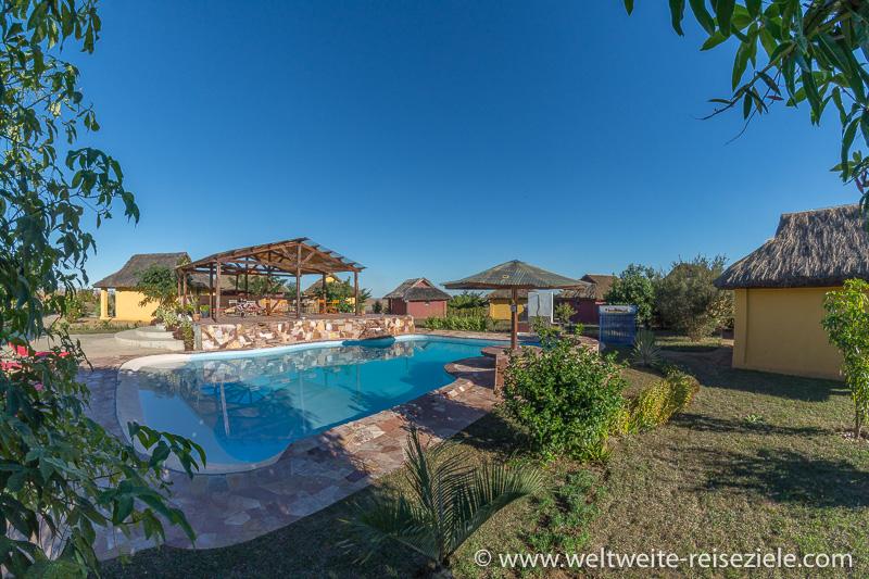 Pool, Hotel H1 Ranohira, Madagaskar