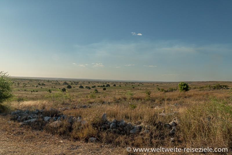 Ebene vor der Westküste von Madagaskar, bei Tulear