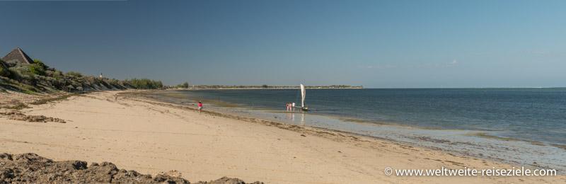 Panoramafoto, Strand Richtung Ifaty, Madagaskar
