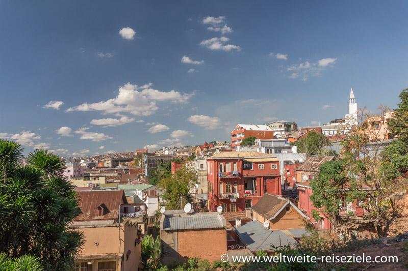 Stadtteil von Antananarivo Isoraka - Ambohidahy, Madagaskar