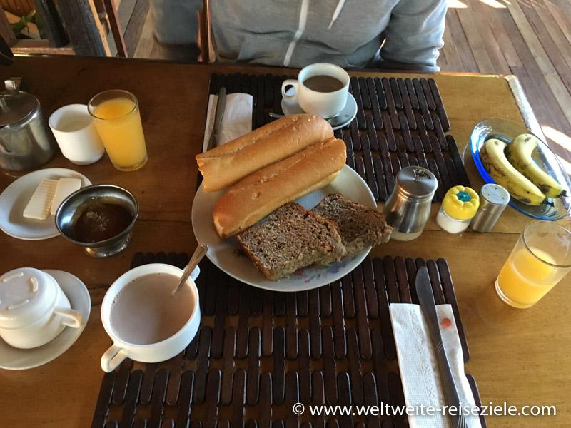 Frühstück im Hotel Feon ' ny Ala
