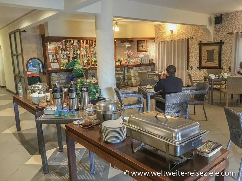 Frühstücksbuffet, Hotel Royal Palace, Antsirabe