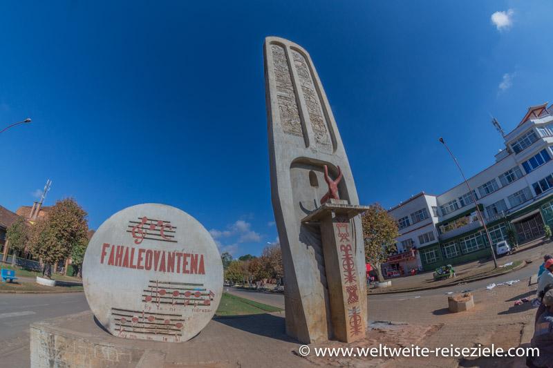 Unabhängigkeitsplatz von Antsirabe
