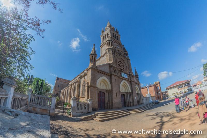 Katholische Kirche von Antsirabe