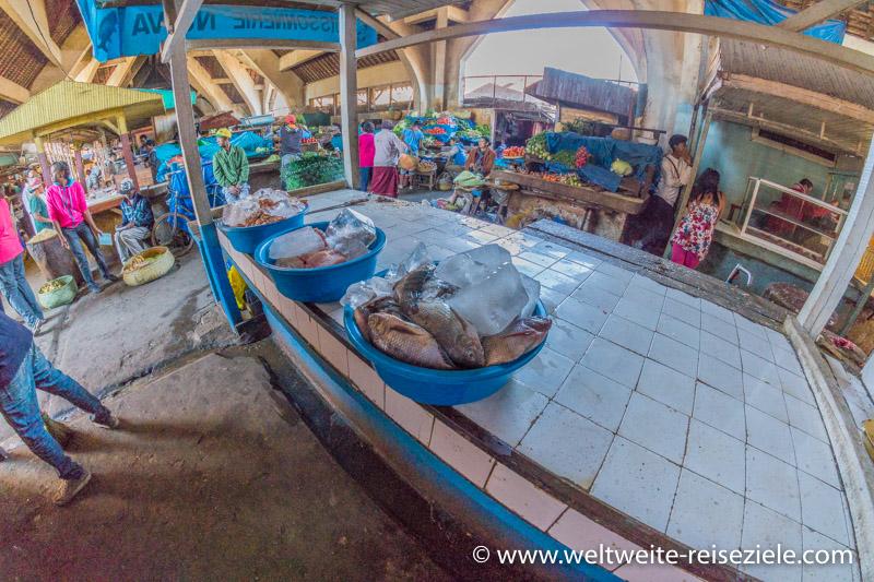 Fisch am Markt in Antsirabe