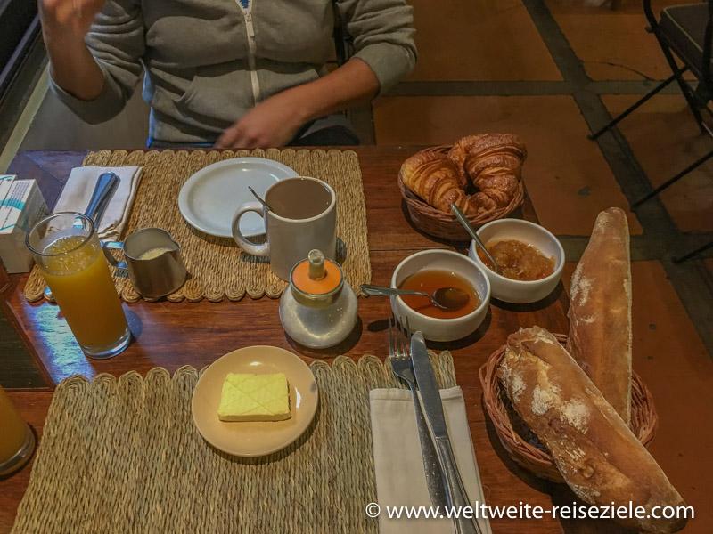 Frühstück im Hotel, Sakamanga Hôtel, Antananarivo