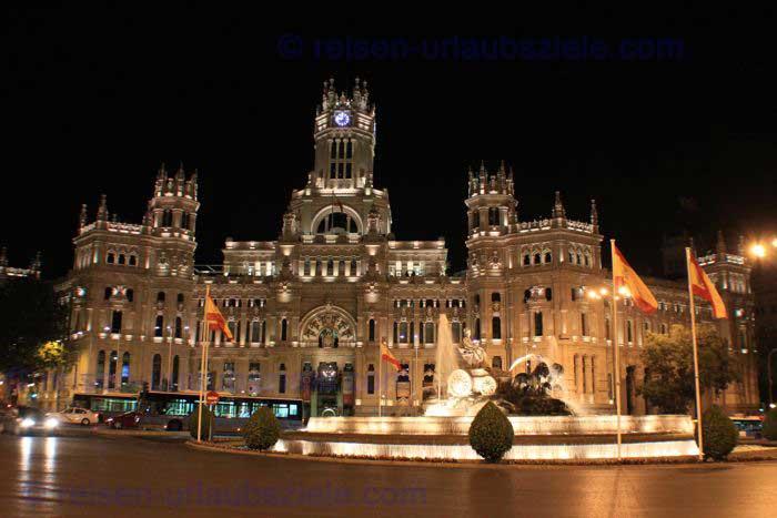 MadridCibelesNacht