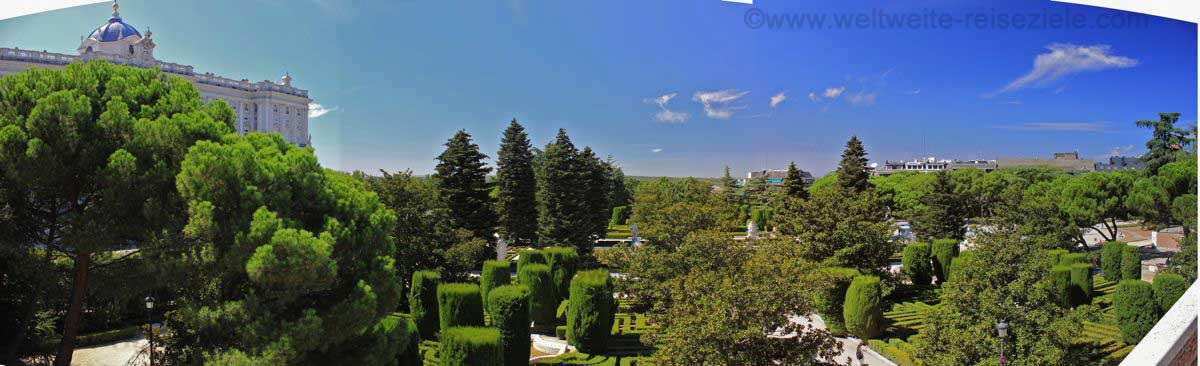 MadridPalastGarten